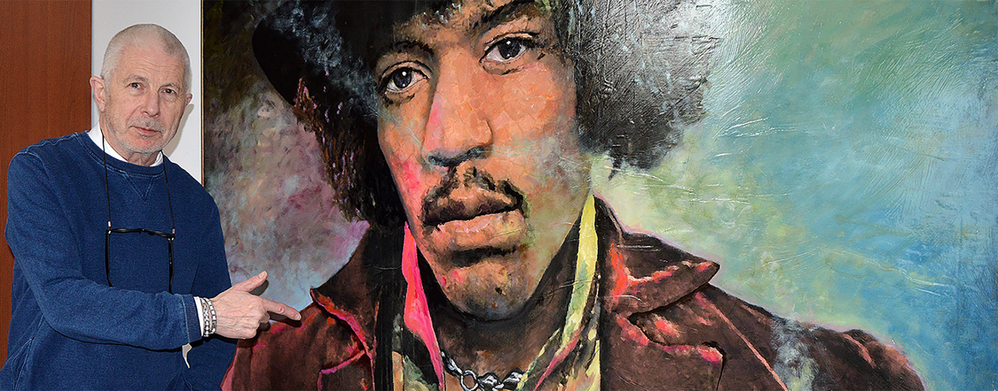 Marcello's Art Factory and Rock Gallery Jimi Hendrix