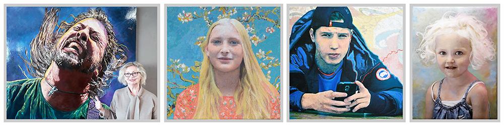 portretschilderijen van fotoos